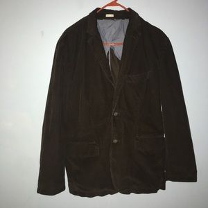 J.Crew Vintage Cord Dark Brown Curdoroy Jacket